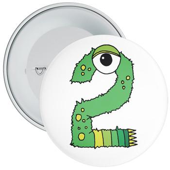 Monster 2nd Birthday Badge