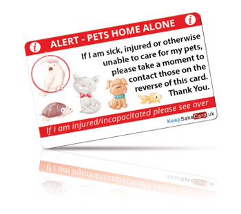 Generic Pet(s) - Pets At Home I.C.E. Card