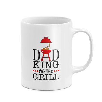 Dad King Of The Grill Mug