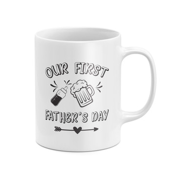 Our First Father's Day Mug