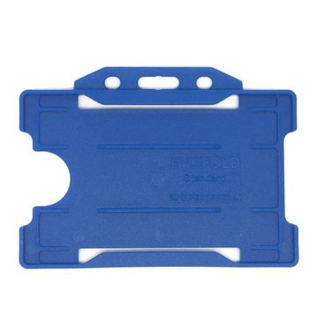 Navy Blue Single Sided Card Holder