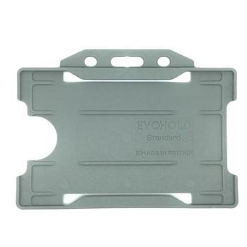 Grey Single Sided Card Holder
