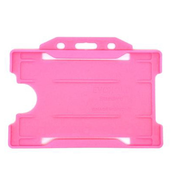 Pink Single Sided Card Holder