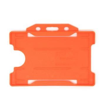 Orange Single Sided Card Holder