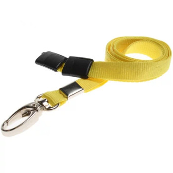 Yellow Breakaway Lanyard with Lobster Clip