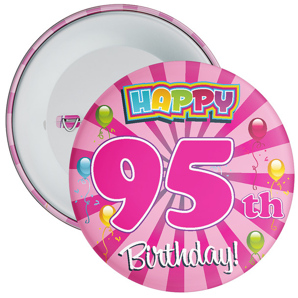 95th Birthday Badge