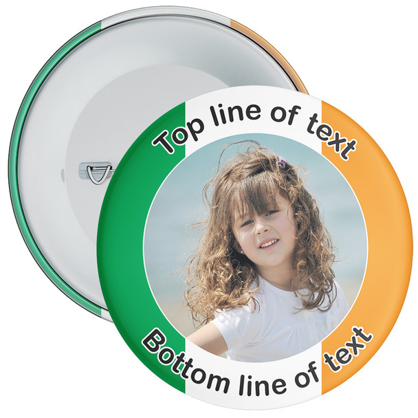 Ireland Themed Photo Badge