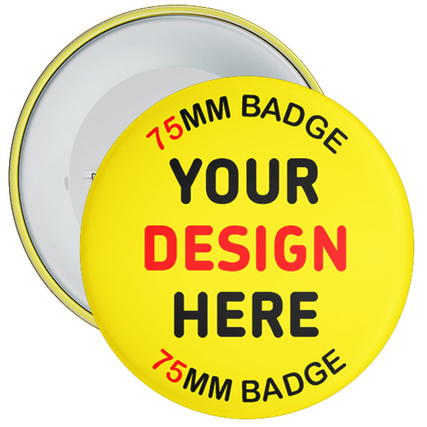 75mm Promo Badges