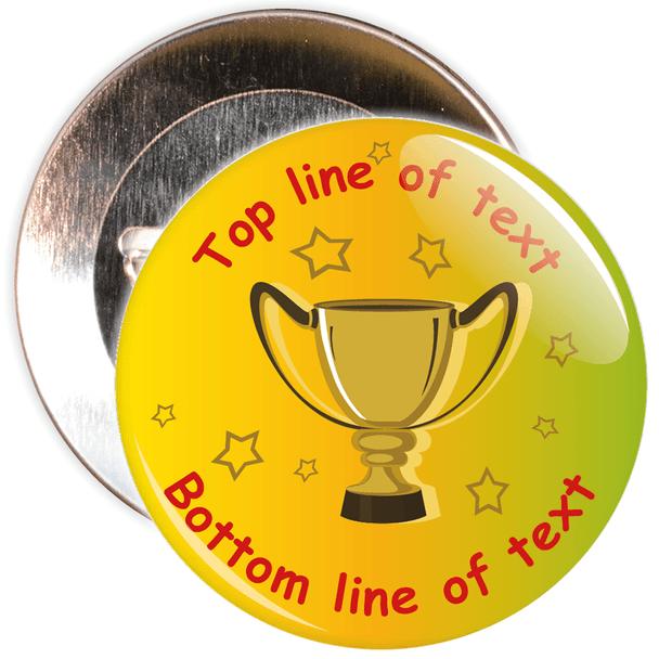 School Customisable Generic School Award Badge 4