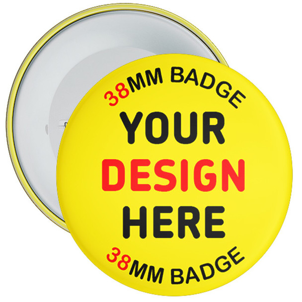 38mm Custom School Badges