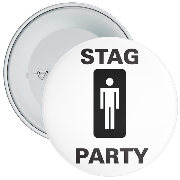 Stag Party Badge 2