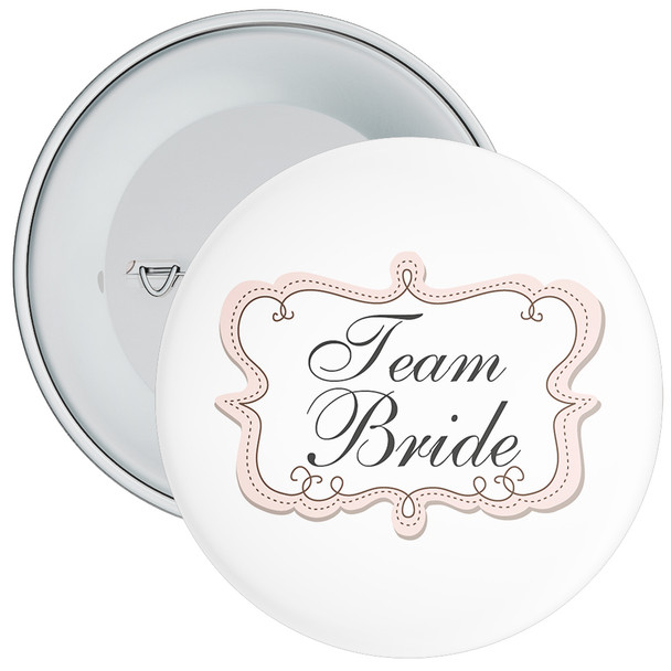 Team Bride Hen Badge