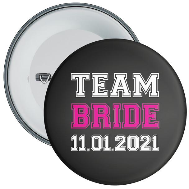 Customisable Team Bride Hen Night Badge