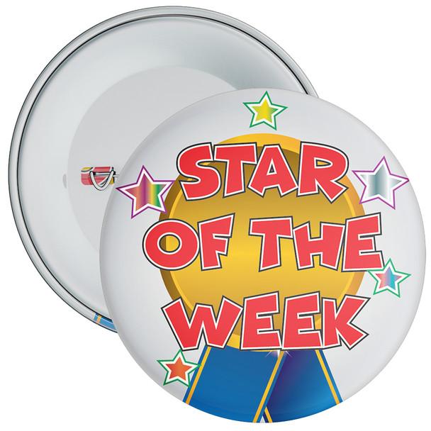 School Star of The Week Reward Badge