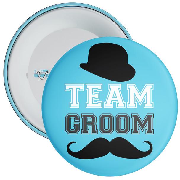 Blue Team Groom Badge 1