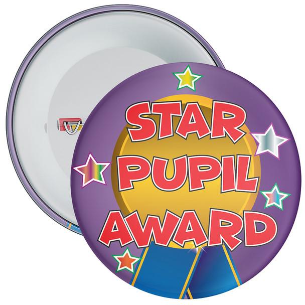 School Purple Star Pupil Award Reward Reward Badge