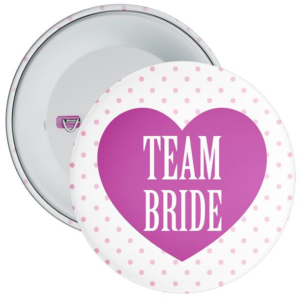 Classy Team Bride Hen Party Badge 2