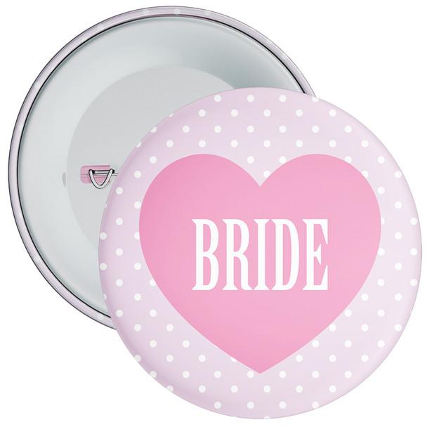 Pink Classy Bride Hen Party Badge