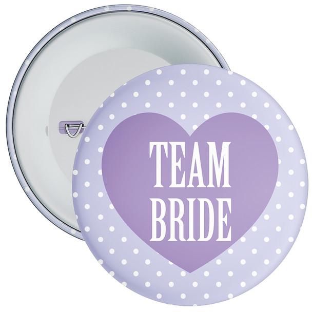 Classy Team Bride Hen Party Badge