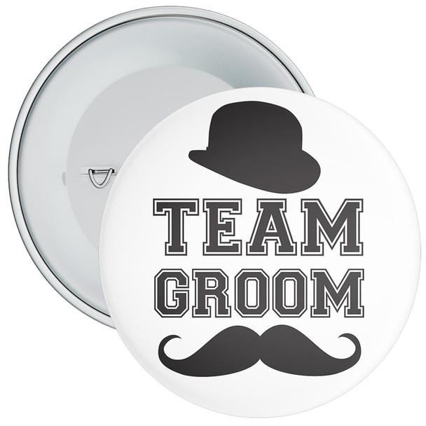Team Groom Badge 11