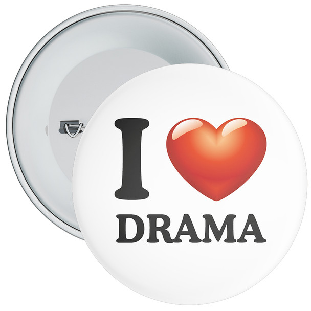School I Love Drama Badge