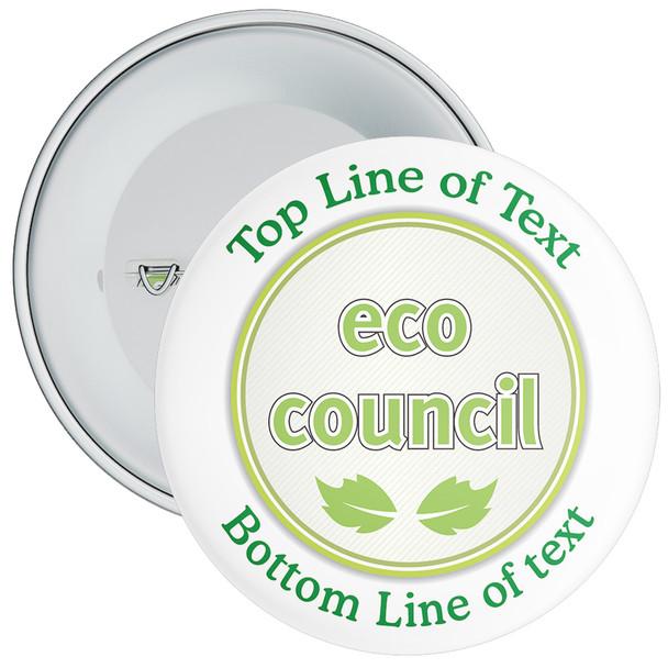 School Customisable Eco Council Badge