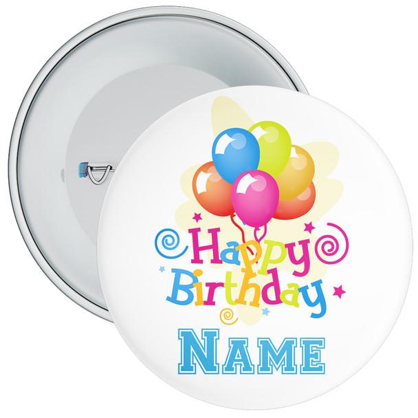 Customisable Birthday Badge 7