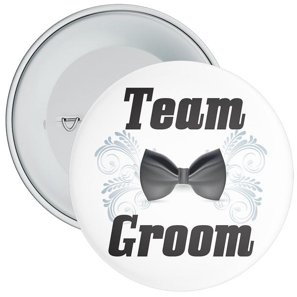 Team Groom Badge