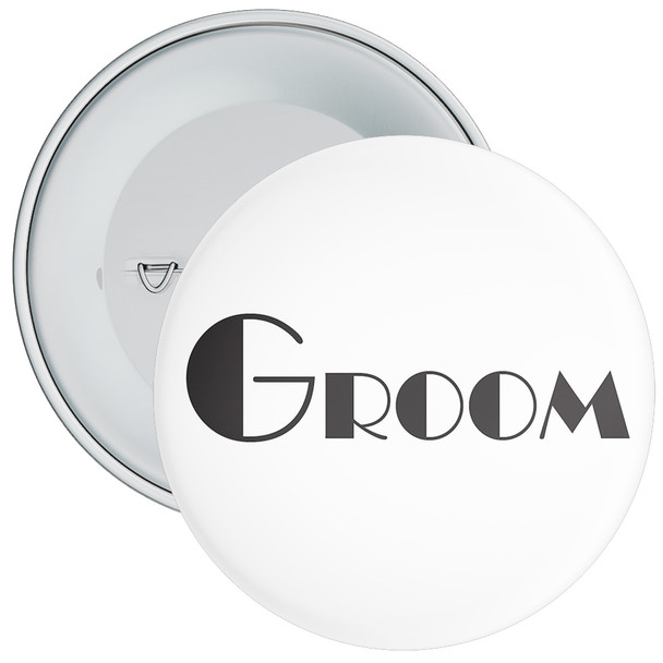 Groom Badge 1