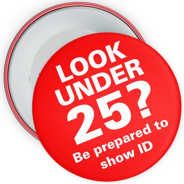 Challenge 25 Badges - Look Under 25?