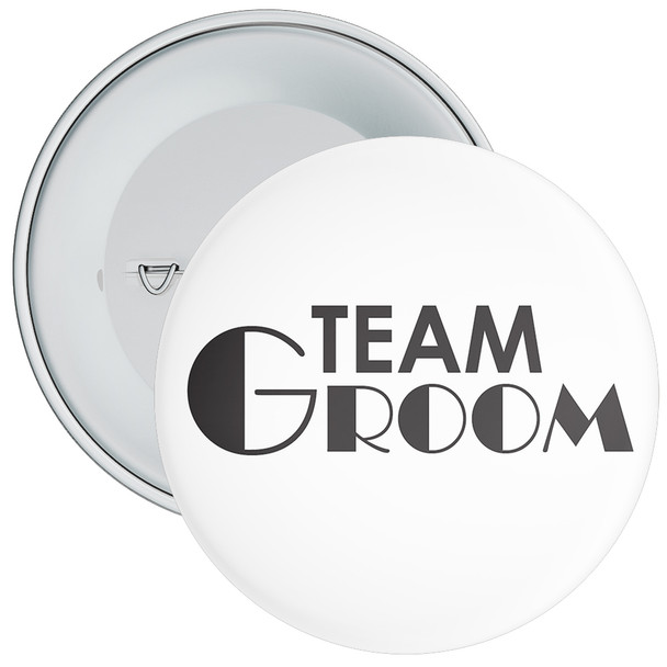 Team Groom Badge 13