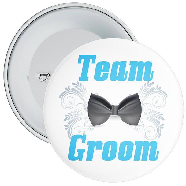 Team Groom Badge 1