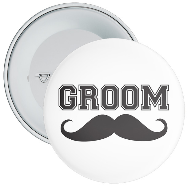 Groom Badge 3
