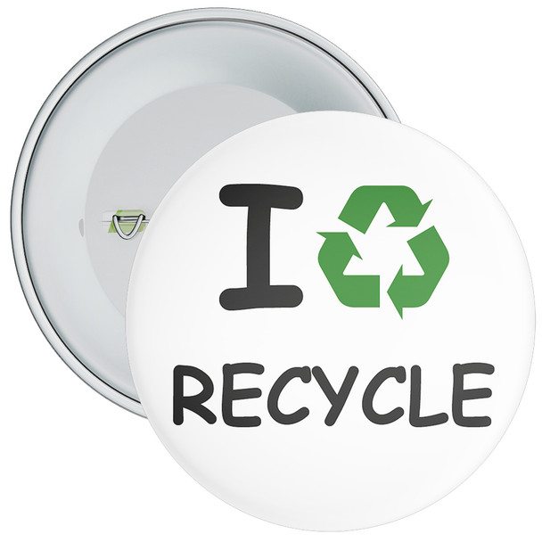 School I Recycle Eco Badge