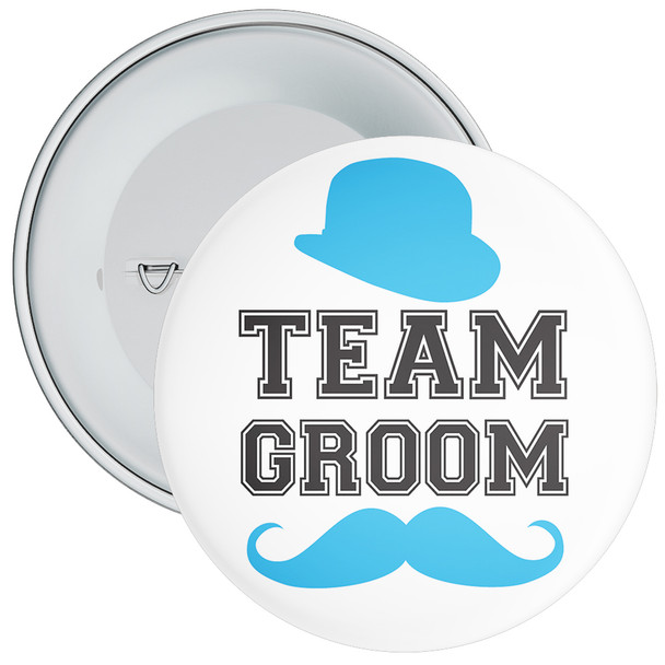 Team Groom Badge 10