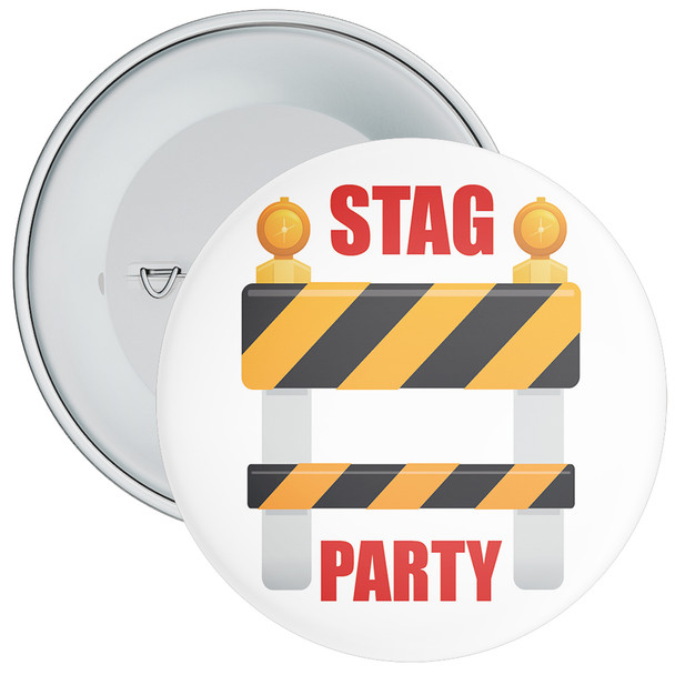 Stag Party Badge 1