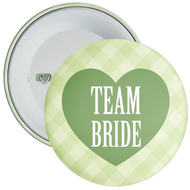 Green Classy Team Bride Hen Party Badge