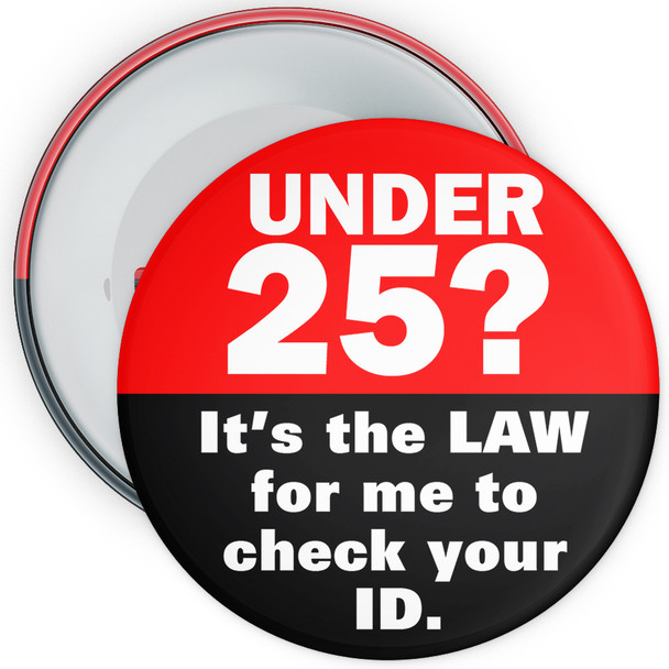 Challenge 25 Badges - Its The Law