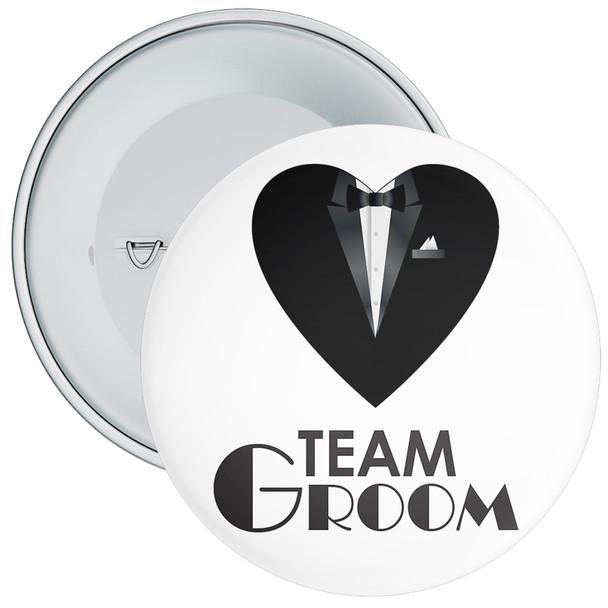 Team Groom Badge 12