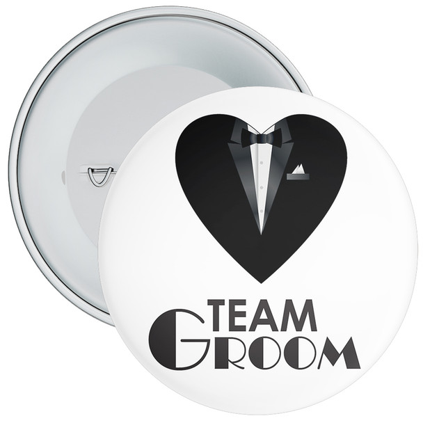 Team Groom Badge 12