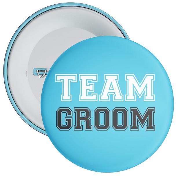 Blue Team Groom Badge