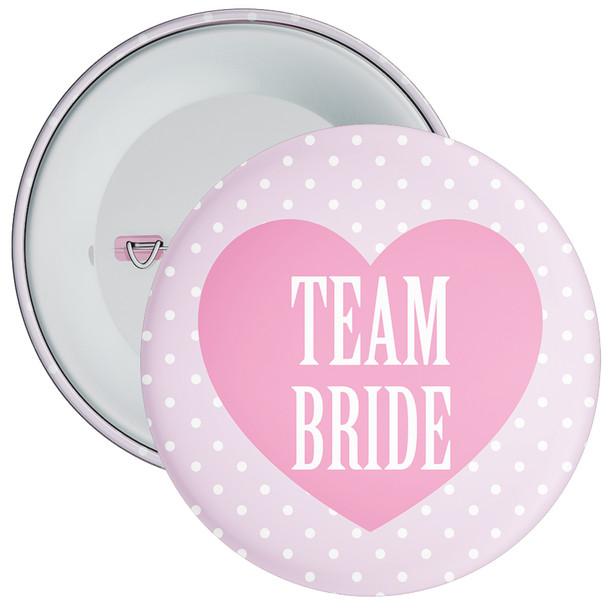 Classy Team Bride Hen Party Badge 1