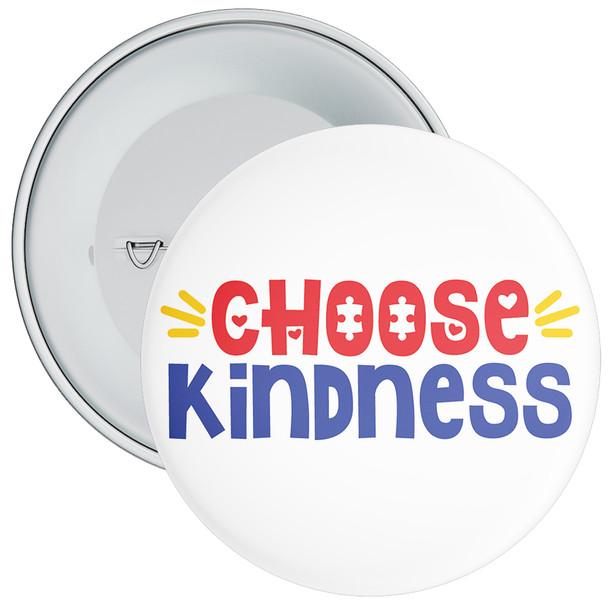 Choose Kindness Autism Awareness Badge