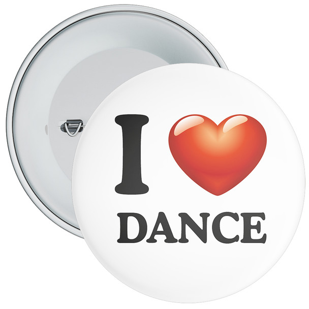 School I Love Dance Badge