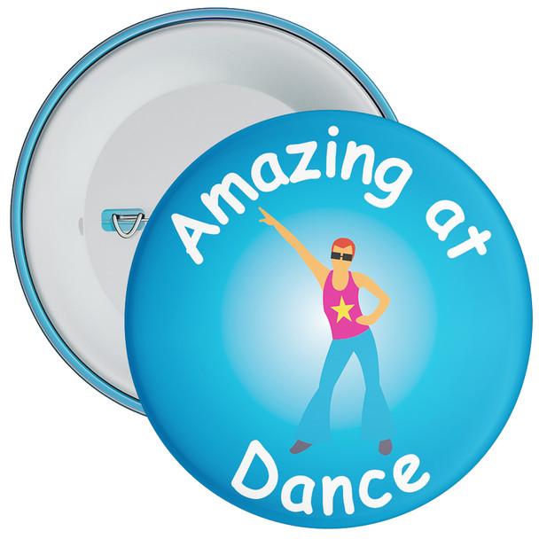 Amazing At Dance Badge