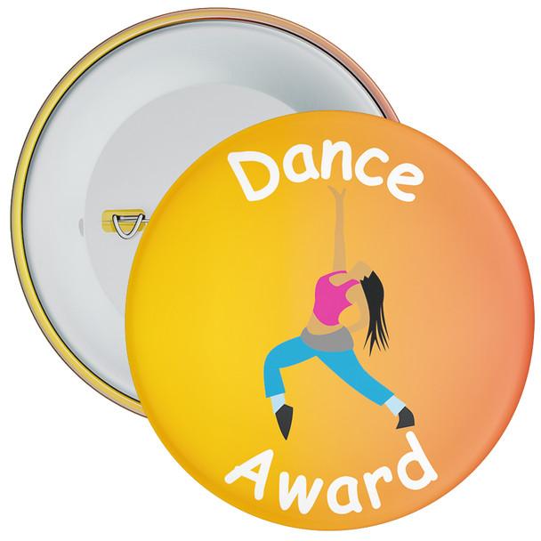 Amazing At Dance Badge Orange