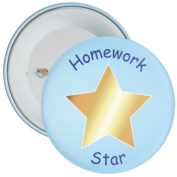 Homework Star Badge