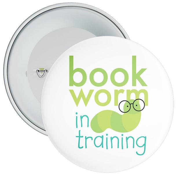 Bookworm In Training Badge