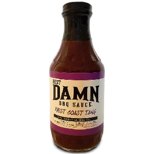 Best Damn BBQ Sauce, West Coast Tang BBQ Sauce  - PICK UP @ 4205 CHERRY AVE