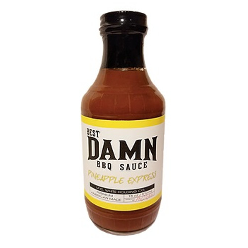 Best Damn BBQ Sauce, Pineapple Express BBQ Sauce - PICK UP @ 4205 CHERRY AVE
